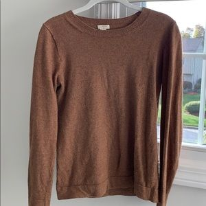 Never worn J Crew crew neck sweater